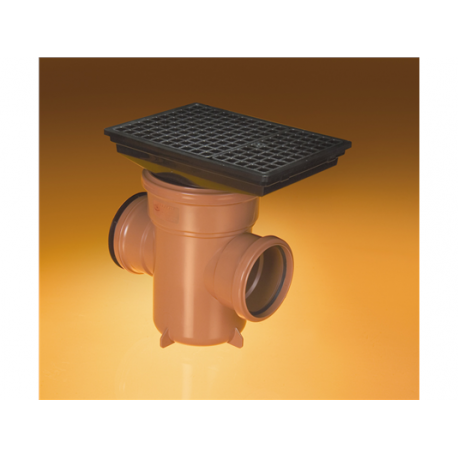 110mm Underground Drainage - Bottle Gullys & Adaptorss